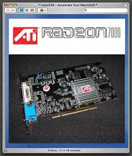 ATi Radeon 7000 64mb PCI Video Card For Apple PowerMac G3/G4/G5/ Xserve *DVI+VGA