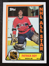 1989-90 PATRICK ROY TOPPS STICKER HOF COLORADO AVALANCHE MONTREAL CANADIENS