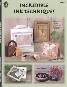 Scrapbook Idea Book - Incredible Ink Techniques SALE