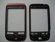 Original HTC Wildfire g8 front cover tapa carcasa tapa cáscara rojo como nuevo