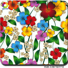 FLOWER HYDROGRAPHIC FILM WATER TRANSFER PRINTING FILM Hydro Dipping Hydrograph