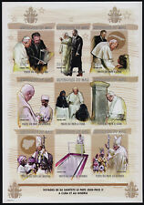 Mali 974-5 imperf MNH Travels of Pope John Paul II