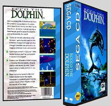 Ecco The dolphin - Sega CD Reproduction Art DVD Case No Game
