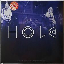 Hole - LIVE in California 1994 grease your hips 2LP limited colored vinyl NEU