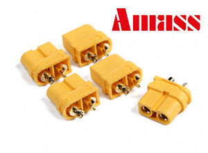 AMASS XT60-U FEMALE Connectors/Plugs for RC BATTERIES - MultiBuy Savings -UK
