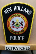 NEW HOLLAND, PENNSYLVANIA POLICE SHOULDER PATCH PA