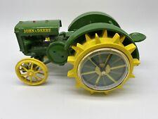 JOHN DEERE DIECAST TRACTOR MODEL, W/BATTERY OP CLOCK, The Danbury Mint, Works.
