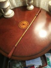 Vintage leather Imperial beaver riding whip