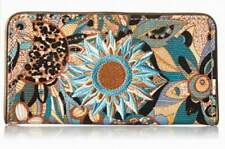"NWT Sakroots Slim Wallet Copper Spirit Desert ID slot New 6.5"" x 3.5"" SHP IN'TL"