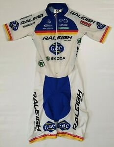 Moa Team Raleigh Cycling Skinsuit Size 2