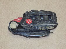 Willie McGee Game Worn Signed Fielders Glove St. Louis Cardinals PSA DNA