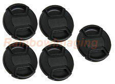 "5 x 58mm Snap On Cap for Canon Nikon Sony Pentax Olympus Lens  ""US Shipping"""