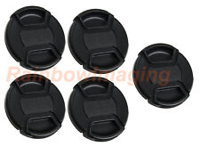 "5x 77mm Snp On Cap for Canon Nikon Sony Pentax Olympus Fuji Lens  ""US Shipping"""