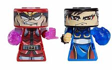 Mattel VS RIP SPIN WARRIORS M BISON VS CHUN LI Figurine Toy Superhero NEW