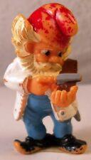😀FERRERO Zwerg Zunft Barbier Ü-Ei Überraschungseier Hartplastik Figur vor 1992