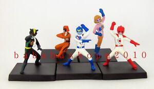 Bandai Battle Fever J trading figure (full set 5 Pcs with 5 boxes)