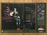 Small Soldiers PS1 Playstation 1 1998 Vintage Game Print Ad/Poster Art Official