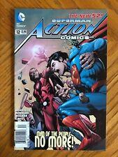 Action Comics 12 Superman DC Comics NEW 52 NEWSSTAND VF