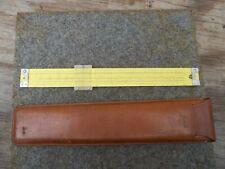 Vintage 1959 Pickett Slide Rule in Leather Case Model N-1010-ES Trig FREE SHIP