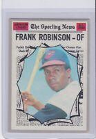 1970 Topps #463 Frank Robinson Baltimore Orioles Vintage Baseball Card