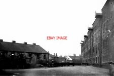 PHOTO  1951 RAILWAY GRAIN WAREHOUSE AND STABLES ROCHDALE LANCASHIRE IN 1951 WHEN