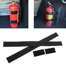 Car, Home Dry Powder Safety Fire Extinguisher with Magic Strip Bracket Stic F8W6
