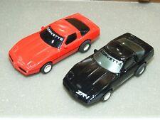 Pair of Tyco Corvette Ho Slot Cars
