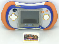 Vtech Mobigo 2 Console Educative Tactile + Jeu Mobigo Pixar Disney Cars