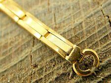 NOS Unused Vintage Base Metal Expansion Watch Band Ring End Ladies Bracelet