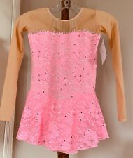New listing Icings NWT PINK LACE TEST/ COMPETITION ICE SKATING DRESS