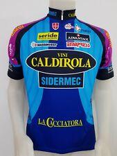 MAGLIA SHIRT CICLISMO TEAM VINI CALDIROLA SIDERMEC CYCLING ITALY CYCLISM MB280