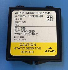 ATN3580-08 ALPHA INDUSTRIES ATTENUATOR PAD CHIP 1W 8DB 100/units