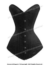 Heavy Duty 26 Double Steel Boned Waist Training Cotton Overbust Shaper Corset M