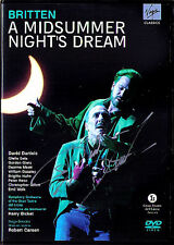 DVD David DANIELS Signed BRITTEN Midsummer Night's Dream Harry Bicket Gillett