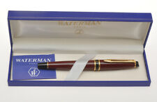 Waterman Expert burgundy fountain pen exc+++ in box