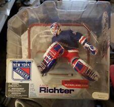 MCFARLANE NHL 4 MIKE RICHTER  CHASE VARIANT BLUE JERSEY NY RANGERS  Rare var