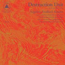 Destruction Unit - Negative Feedback Resistor [New CD]