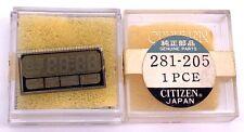 NOS New Citizen 281-205 part watch LCD Display recambio vintage genuine