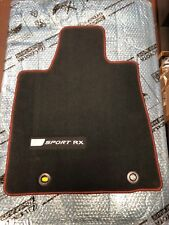 LEXUS RX350 F-SPORT 2015 4 PCS BLACK WITH RED STITCHING CARPET PT206-48150-20