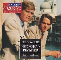 BRIDESHEAD REVISITED - NIGEL HAVERS - DOUBLE CD - GAY INTEREST + AUTOGRAPH