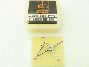 Renishaw A/5000-3626 M2 CMM Touch Probe 5-Way Star 2 mm Ruby Ball 30 mm Span