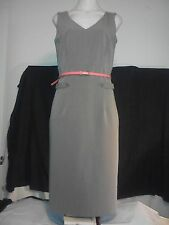 Barkins Basics Ladies Dress in a Light Brown Fitted Shift Style Size 10