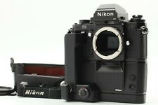 [ Mint ] Nikon F3HP SLR Body + MD-4 + MK-1 + AH-3 from Japan