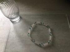 Czech Glass Neckless Authentic Swarovski Crystal and