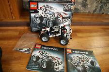 LEGO Technic 8262 Quad Bike Complete w/ Box and Instructions Rare