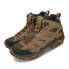 Merrell Moab 2 Mid GTX Gore-Tex Brown Khaki Men Outdoors Hiking Shoe Boot J65463