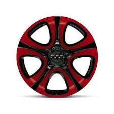 Fiat Red Wheel Trims