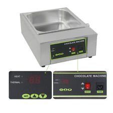 8kg Commercial Chocolate Melting Pot Electric Chocolate Machine Stainless Steel