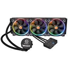 Thermaltake Water 3.0 Riing RGB LED 360mm Quiet Liquid CPU Cooler Heatsink Fan