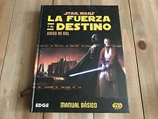 Star Wars The Force And The Destino Basic set role playing Edge Fantasy Flight